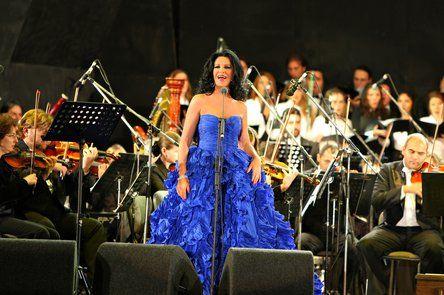 Angela Gheorghiu a concertat la Kennedy Center pentru Barack si Michelle Obama