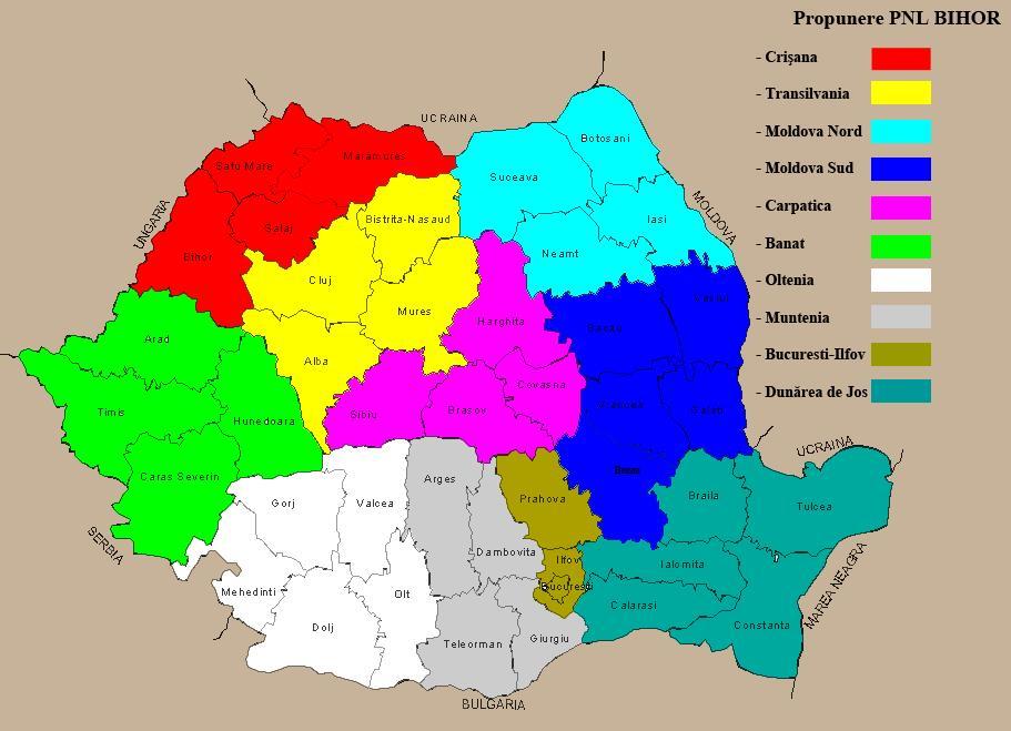 Regionalizare Punct Si De La Capat Care Vor Fi Regiunile De Pe