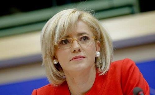 Comisarul european pentru politica regionala CORINA CRETU viziteaza Romania