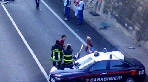 Accident cu romani in Italia, sase persoane ranite in localitatea Caravaggio