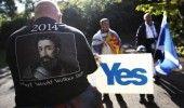 SCOTIA: Mii de OAMENI au cerut in strada un nou REFERENDUM pentru INDEPENDENTA