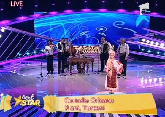 Cornelia Orleanu in finala Next Star: Video cu castigatoarea editiei cu numarul opt Next Star