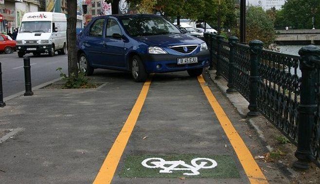 Drumuri comune pentru pietoni si biciclisti in Capitala