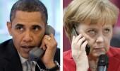 "Obama si Merkel, intr-o discutie telefonica: Rusia s-a angajat intr-o ""escaladare periculoasa"" in Ucraina"