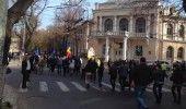 MITING in Capitala: Peste 400 de persoane protesteaza fata de lipsa alocarii de fonduri pentru paduri