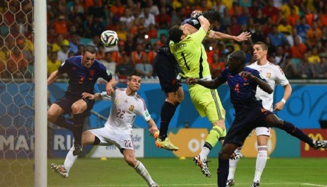 Campionatul mondial de fotbal 2014: Olanda - Spania 5-1 ...