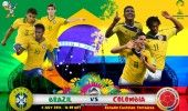 Campionatul Mondial de fotbal 2014: BRAZILIA-COLUMBIA 2-1 (1-0) LIVE TEXT: Selecao merge in semifinale