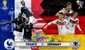 Campionatul Mondial de fotbal 2014: FRANTA-GERMANIA 0-1 (0-1) LIVE TEXT: Les jeux sont faits
