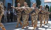 """CEREMONIE de sosire a militarilor Batalionului 20 Infanterie """"Dolj"""" din Afganistan, la Craiova"""