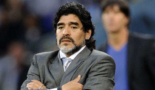 Diego Armando Maradona a ajuns, din nou, la spital