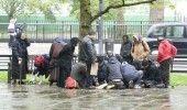 CERSETORII romani din Londra cer CASE pentru a nu mai ocupa bulevardele exclusiviste din oras