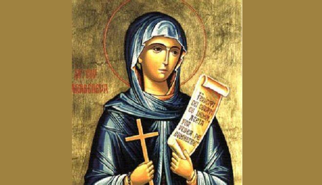 14 octombrie în calendarul ortodox. Sfânta cuvioasă Parascheva