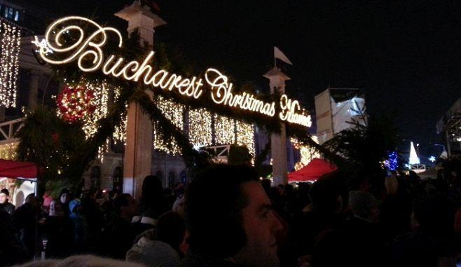 BUCHAREST CHRISTMAS MARKET se DESCHIDE in aceasta luna