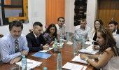 STUDENTII au discutat cu ministrul MIHNEA COSTOIU