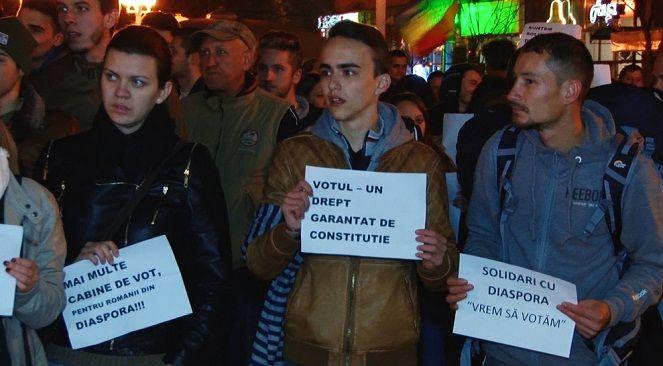 Proteste la Timisoara