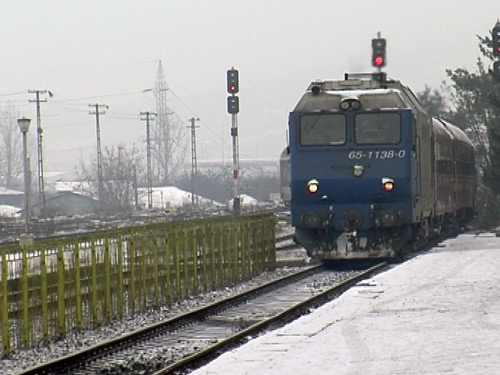 CFR Călători. Întârzieri ale trenurilor din cauza circulaţiei în condiţii de iarnă