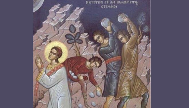 27 Decembrie in Calendarul Ortodox. Sfantul ARHIDIACON STEFAN