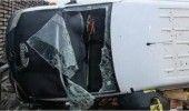 IASI: ACCIDENT de MICROBUZ, soldat cu un MORT si SASE RANITI