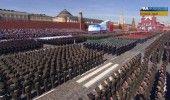 RUSIA: PARADA GRANDIOASA la MOSCOVA cu ocazia ZILEI VICTORIEI – VIDEO