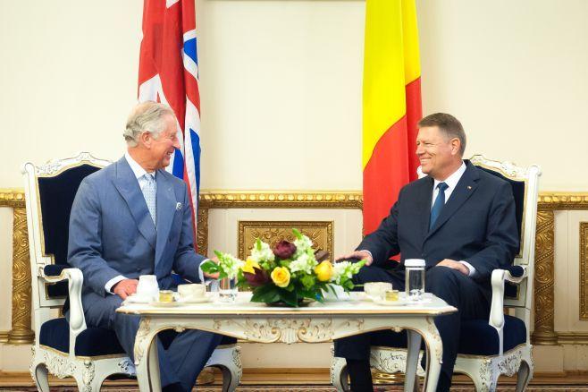 PRINTUL CHARLES va efectua o vizita oficiala in ROMANIA. IOHANNIS va oferi o RECEPTIE in ONOAREA ACESTUIA