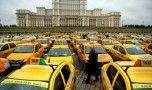 București: Protest al taximetriștilor în centrul Capitalei