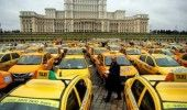 PROTEST al TAXIMETRISTILOR si TRANSPORTATORILOR COTAR! REACTIA UBER