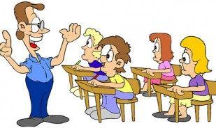 Elevul la scoala. Bancul zilei
