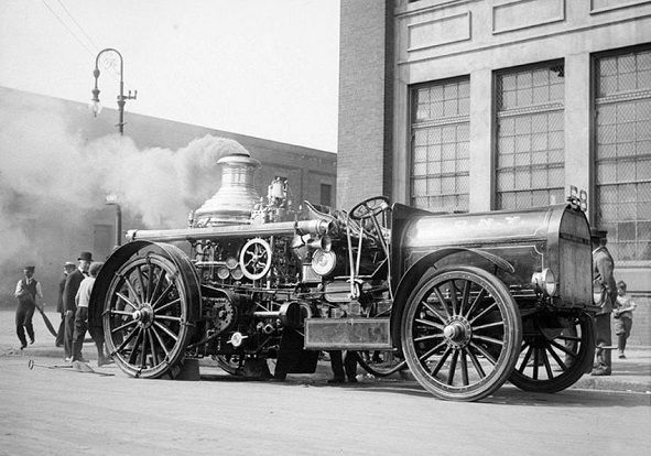 Departamentul Pompierilor, New York 1910