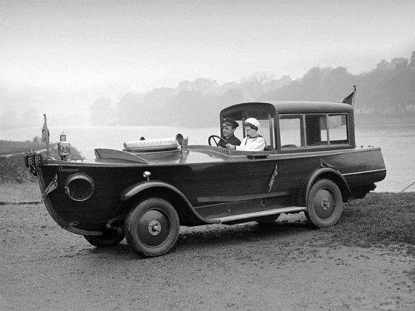 Peugeot, masina amfibie, 1925