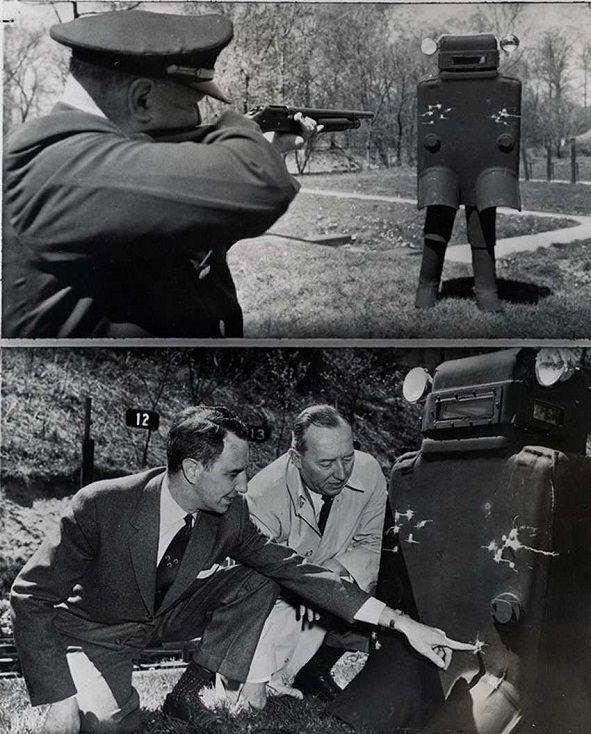 Vestă anti-glont, 1958