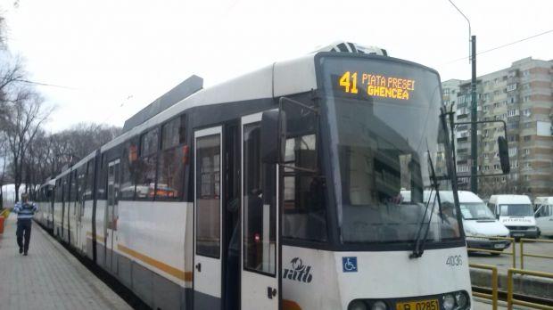 București. Tramvaiele liniei 41 nu vor circula în acest weekend