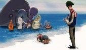 Artisti din intreaga lume au realizat portretul baietului sirian inecat din dife…