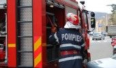 BUCURESTI: Un INCENDIU a cuprins 4 IMOBILE de pe strada HELIADE INTRE VII