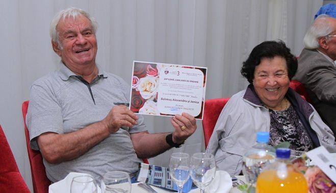 ROBERT NEGOITA a aniversat 200 dintre cele mai longevive cupluri din Sectorul 3