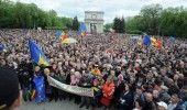 REPUBLICA MOLDOVA: Mars de amploare, duminica la CHISINAU, pentru resetarea celor doua state romanesti prin unire