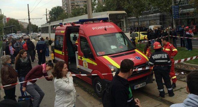 Tragedie în Capitală. Un bărbat a murit după ce a fost lovit de un tramvai