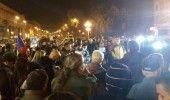 PROTESTE in Capitala de ZIUA NATIONALA: Manifestantii s-au IMBRANCIT cu jandarmi…