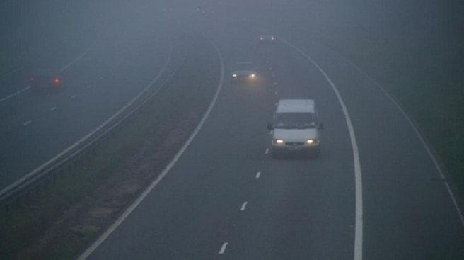Cod galben de ceață, valabil în peste jumătate din țară