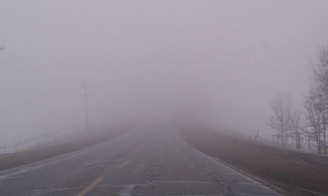 Alertă meteo. Peste jumătate din ţară, sub cod galben de ceaţă şi vizibilitate redusă