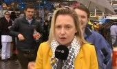 VIDEO JURNALISTA BELGIANA, HARTUITA in timpul unei transmisiuni in direct de la …