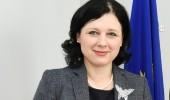 Comisarul european pentru Justitie, Vera Jourova, in vizita la Bucuresti