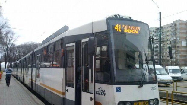 București. Circulația tramvaiului 41 va fi suspendată în weekend-urile din septembrie