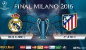 FINALA LIGII CAMPIONILOR: REAL MADRID – ATLETICO MADRID, 21.45, PRO TV / E…
