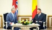 PRINTUL CHARLES isi incepe VIZITA OFICIALA in ROMANIA