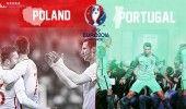 EURO 2016, SFERTURI DE FINALA: POLONIA-PORTUGALIA, 22.00, DOLCE SPORT, PRO TV