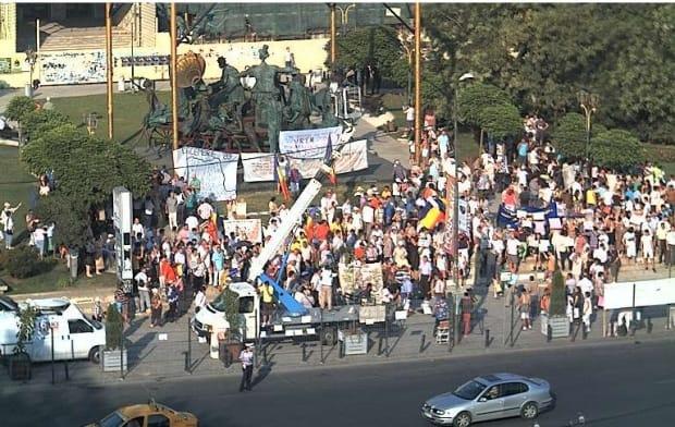 PROTESTE in BUCURESTI si alte ORASE din TARA: APARAM DEMOCRATIE!