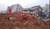 CHINA: Cel putin 35 de MORTI in urma unei ALUNECARI de TEREN