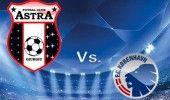 LIGA CAMPIONILOR: ASTRA GIURGIU-FC COPENHAGA, 20.30, Digi / Campioana gata de de…