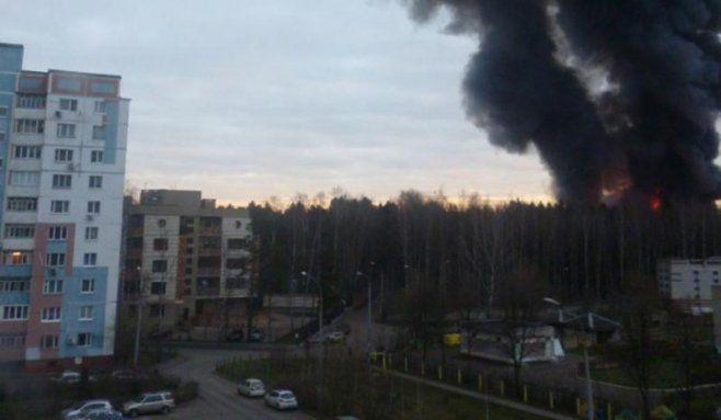RUSIA: INCENDIU MISTUITOR la MOSCOVA, soldat cu 16 MORTI