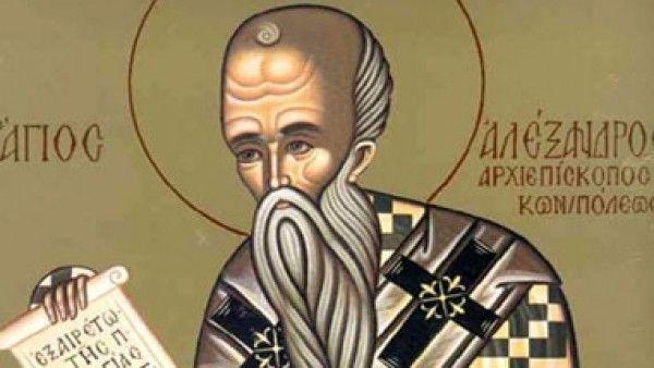 SFANTUL ALEXANDRU, cel care ii apara pe oameni, este praznuit de BISERICA ORTODOXA